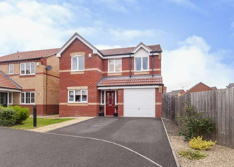 4 Bedrooms Detached House for sale in Hitchen Road, Long Eaton