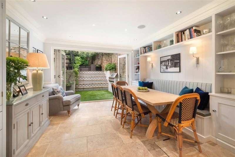 4 Bedrooms Terraced House for sale in Queensdale Road, Holland Park, London