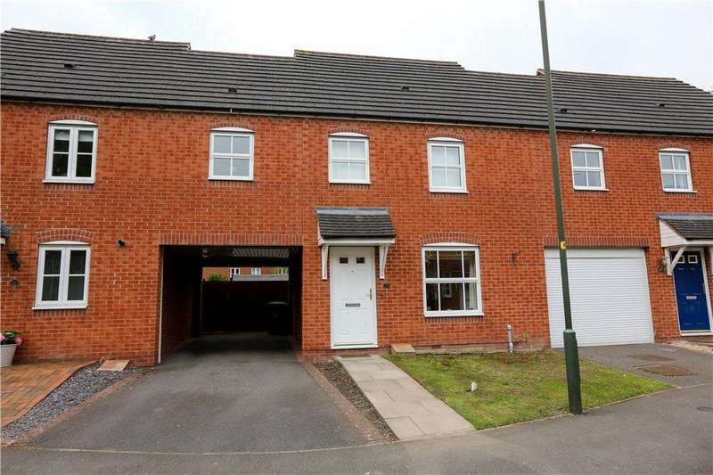 3 Bedrooms Terraced House for sale in Iron Way, Bromsgrove, B60