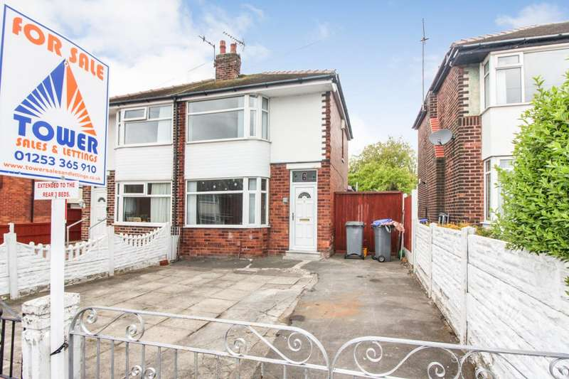 3 Bedrooms Semi Detached House for sale in Carson Road, Blackpool