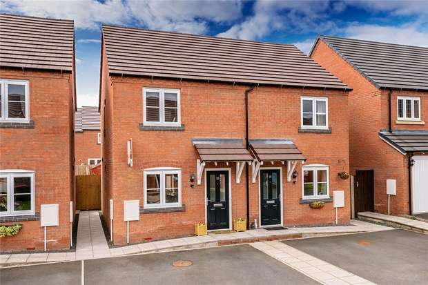 2 Bedrooms Semi Detached House for sale in Audley Park, Newport, Shropshire