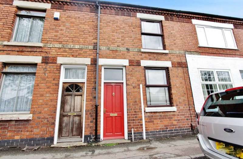 2 Bedrooms Terraced House for sale in Hockley Road, Wilnecote