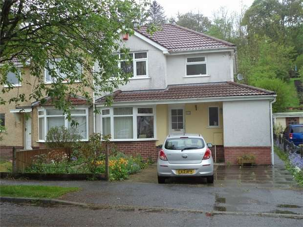 3 Bedrooms Semi Detached House for sale in Cambridge Gardens, Beaufort, EBBW VALE, Blaenau Gwent