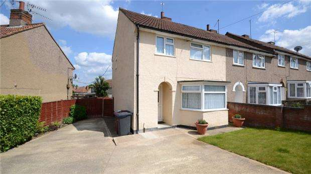 3 Bedrooms End Of Terrace House for sale in Romsey Road, Tilehurst, Reading