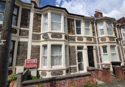 3 Bedrooms Terraced House for sale in Chatsworth Road, Arnos Vale, Near Brislington, Bristol