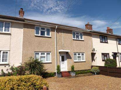 3 Bedrooms Terraced House for sale in Bancroft Avenue, Broom, Biggleswade, Bedfordshire