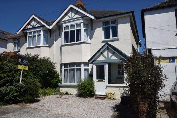 3 Bedrooms Semi Detached House for sale in Cedar Road, Preston, Paignton, Devon