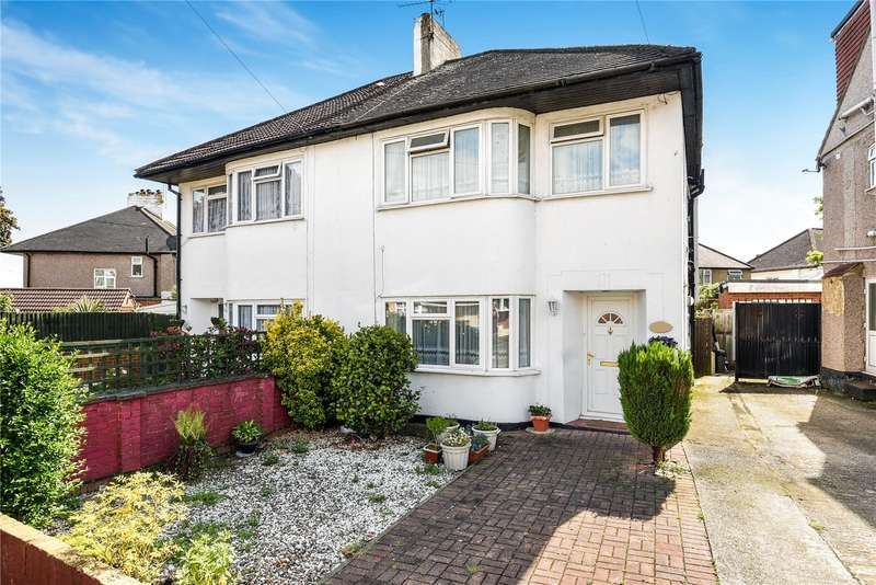 3 Bedrooms Semi Detached House for sale in Park Crescent, Harrow, Middlesex, HA3