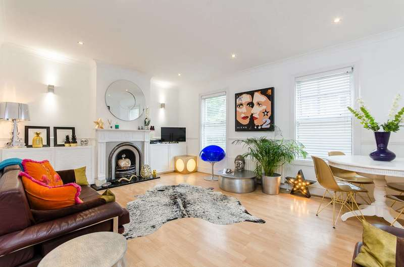 2 Bedrooms Flat for sale in Effra Parade, Brixton, SW2