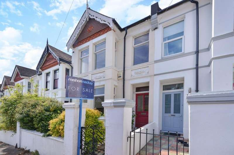 3 Bedrooms Terraced House for sale in St Lukes Road Brighton East Sussex BN2