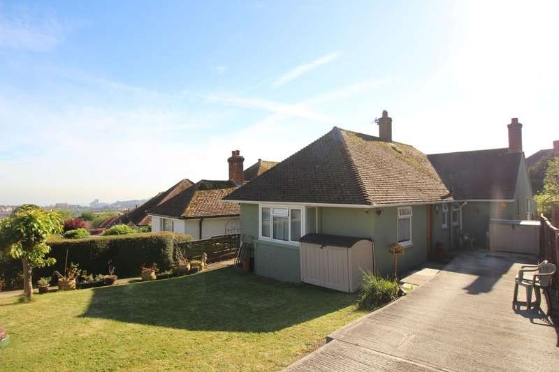 3 Bedrooms Detached Bungalow for sale in Stanbury Crescent, Folkestone, CT19