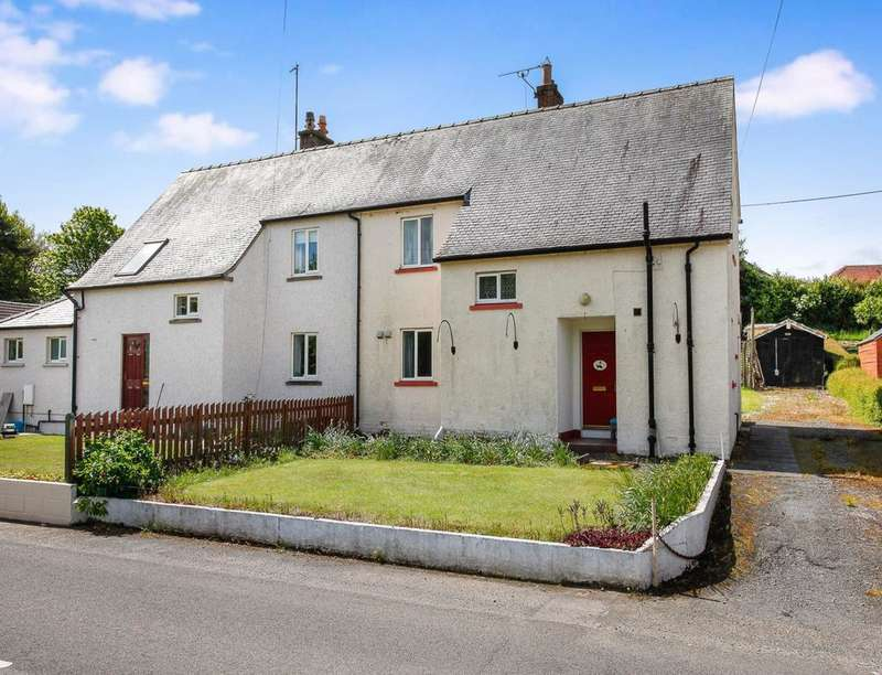 3 Bedrooms Semi Detached House for sale in Tinwald View Back Road, Locharbriggs, Dumfries, DG1