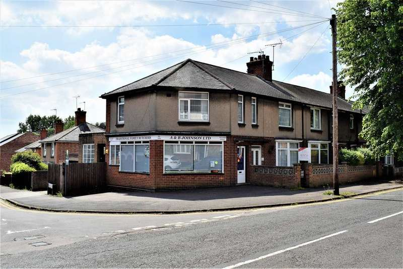 4 Bedrooms End Of Terrace House for sale in Westfield Road, Wellingborough, NN8 3HR