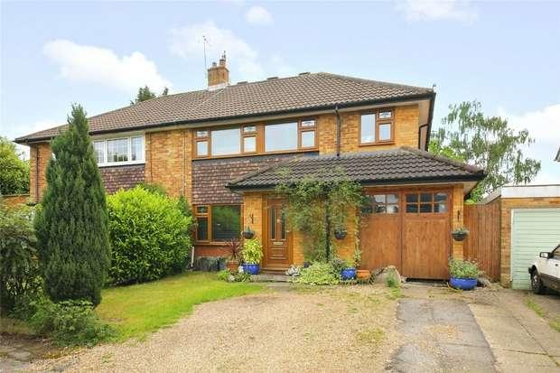 5 Bedrooms Semi Detached House for sale in Heyford Road, Radlett, Hertfordshire