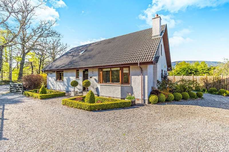 5 Bedrooms Detached House for sale in Carn-Mhor Glenglass Road, Evanton, Dingwall, IV16