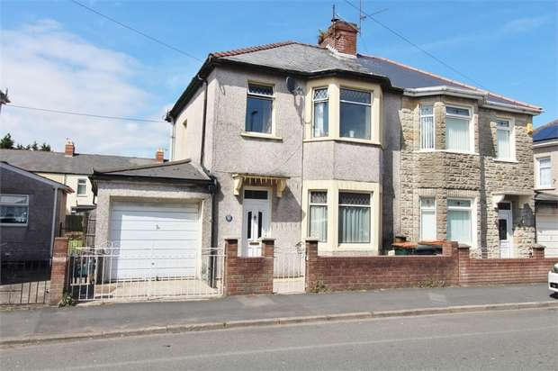 3 Bedrooms Semi Detached House for sale in Cromwell Road, NEWPORT