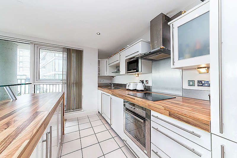 2 Bedrooms Apartment Flat for sale in Coral Apartments, Western Gateway, Royal Victoria Dock, E16