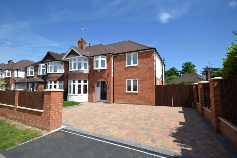 5 Bedrooms Semi Detached House for sale in Woodcote Way, Caversham Heights