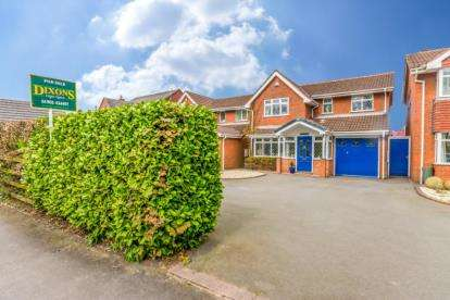 4 Bedrooms Detached House for sale in High Hill, Essington, Wolverhampton, Staffordshire