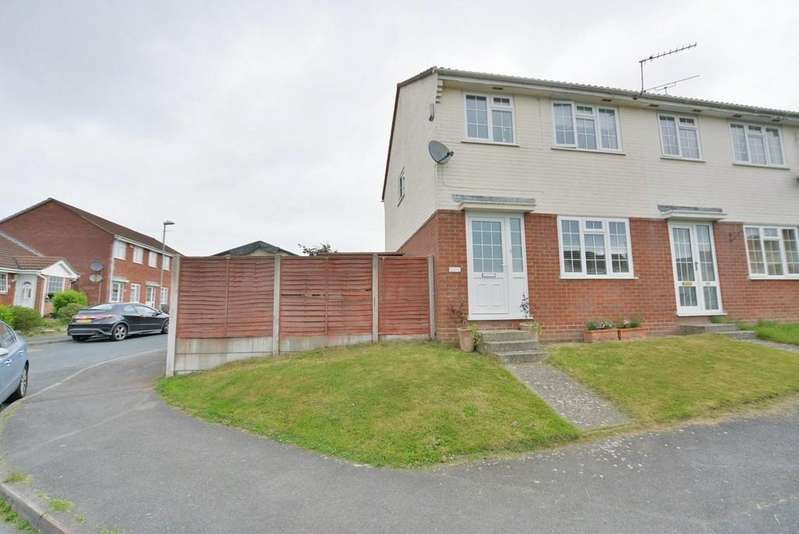 3 Bedrooms Terraced House for sale in Owls Road, Verwood