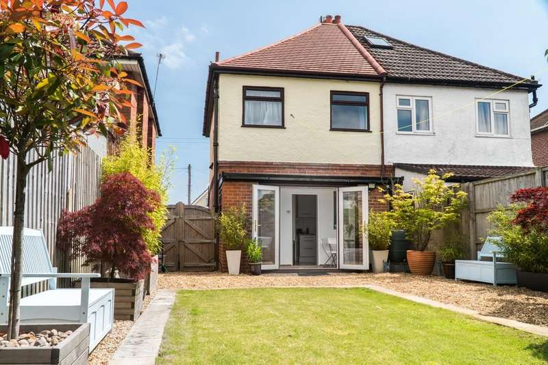 3 Bedrooms Semi Detached House for sale in Cattistock Road, Bournemouth