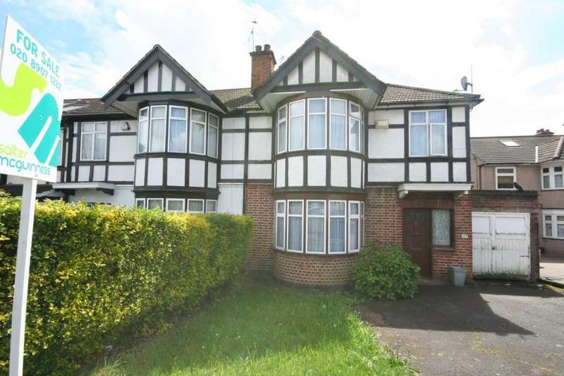 3 Bedrooms Semi Detached House for sale in Christchurch Avenue, Kenton HA3 8NS