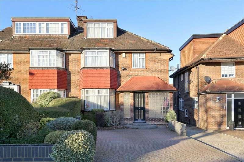 4 Bedrooms Semi Detached House for sale in Broadhurst Avenue, Edgware, London, HA8