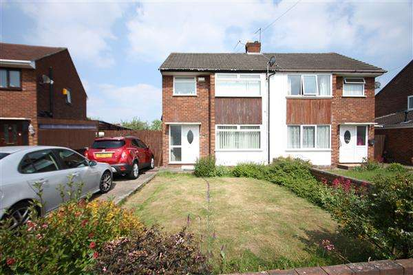 3 Bedrooms Semi Detached House for sale in Weaver Road, Whitby, Ellesmere Port