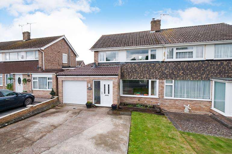 3 Bedrooms Semi Detached House for sale in Regent Drive, Maidstone, Kent, ME15 6DF