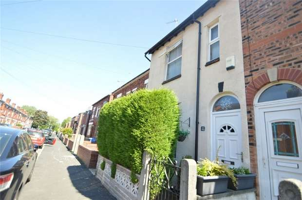 2 Bedrooms End Of Terrace House for sale in Florist Street, Shaw Heath, Stockport, Cheshire