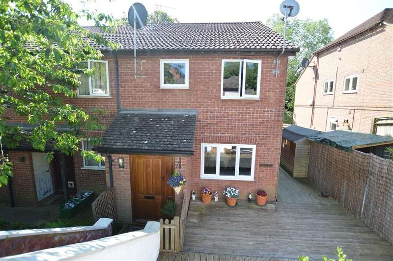 3 Bedrooms Semi Detached House for sale in Stable Close, Burghfield Common, Reading, RG7