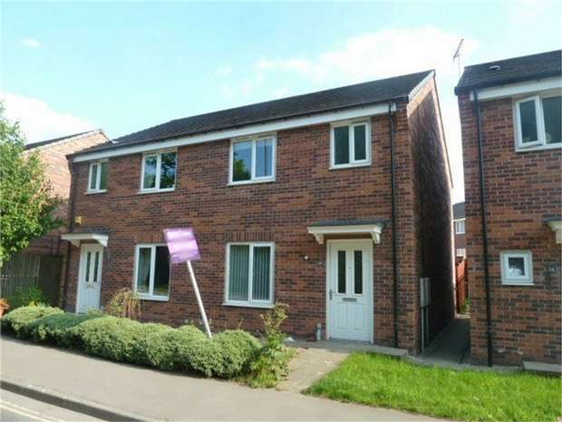 3 Bedrooms Semi Detached House for sale in Furnace Hill Road, Clay Cross, Chesterfield, Derbyshire