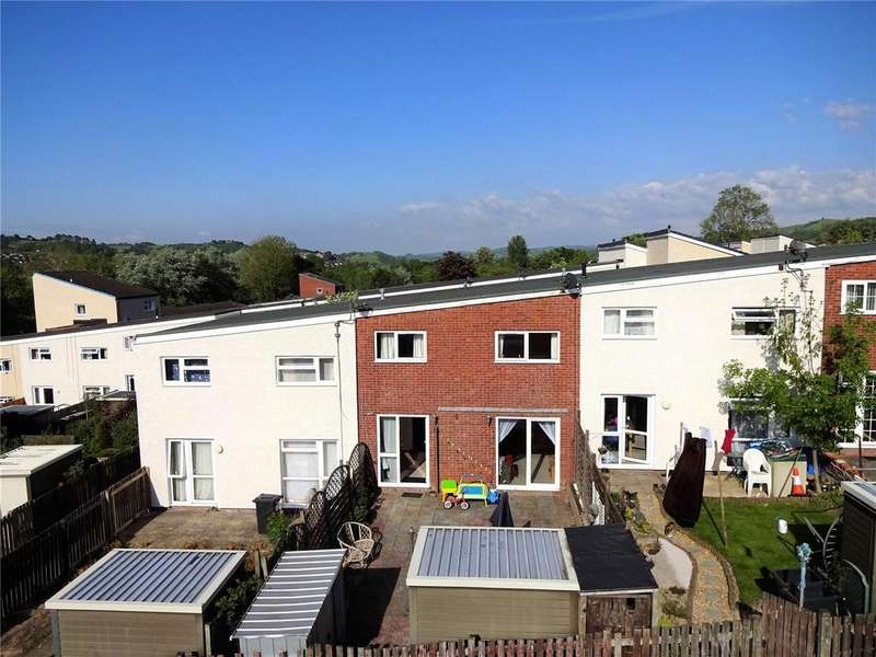 3 Bedrooms Terraced House for sale in Lon Rhosod, Newtown, Powys