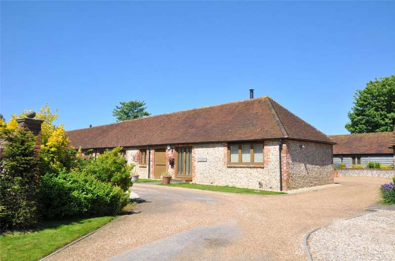 2 Bedrooms Barn Conversion Character Property for sale in Langford Farm, Chilgrove Road, Lavant, West Sussex, PO18
