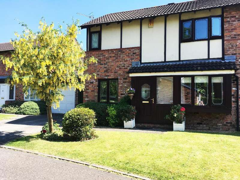 3 Bedrooms Semi Detached House for sale in Stainmore Close, Gorse Covert, Warrington, WA3 6TP