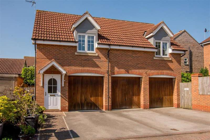 2 Bedrooms Detached House for sale in Cherrytree Drive, Wistow, Selby, YO8 3SE