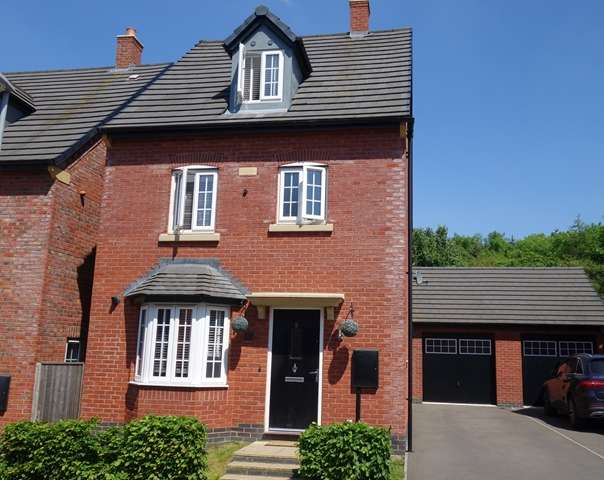 4 Bedrooms Detached House for sale in Millfield Avenue, Countesthorpe, Leicestershire, LE8