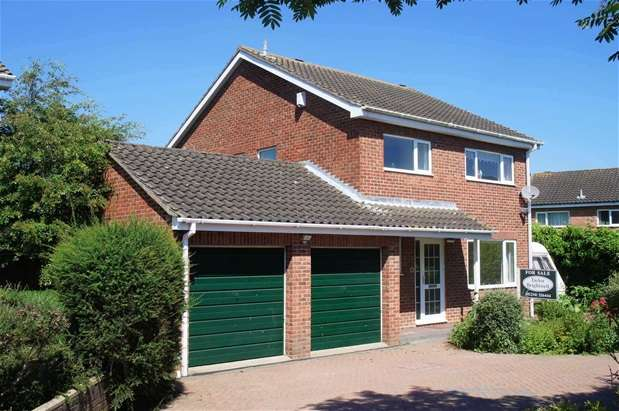 4 Bedrooms Detached House for sale in Norfolk Close, Brickhill