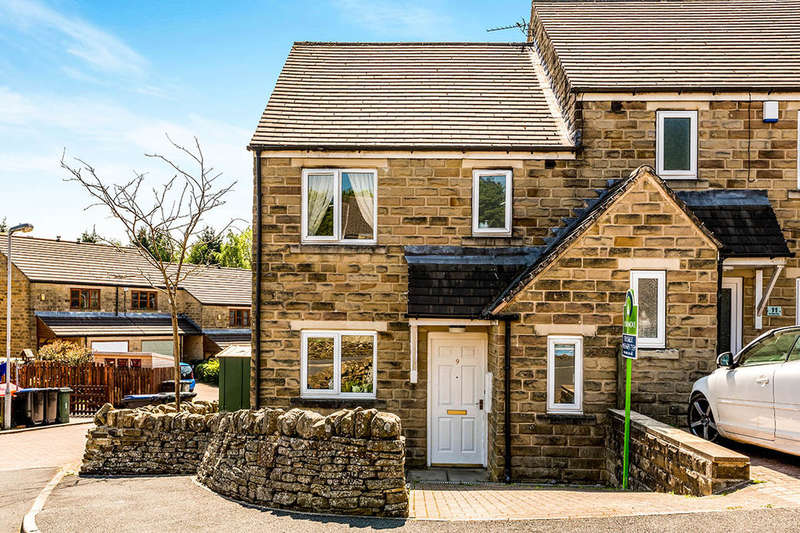 3 Bedrooms Semi Detached House for sale in Heritage Way, Oakworth, Keighley, BD22