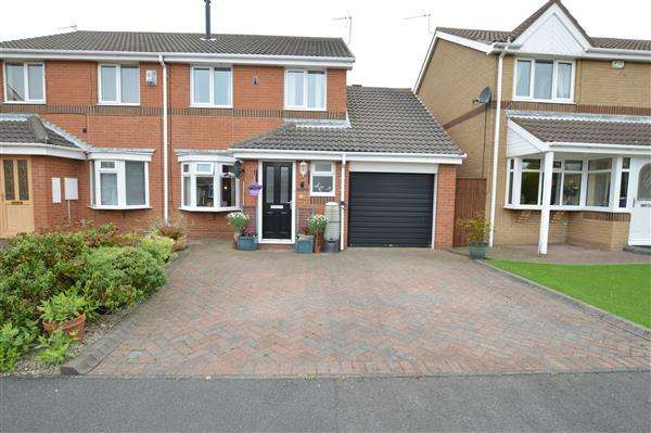 3 Bedrooms Semi Detached House for sale in Tintagel Drive, Seaham