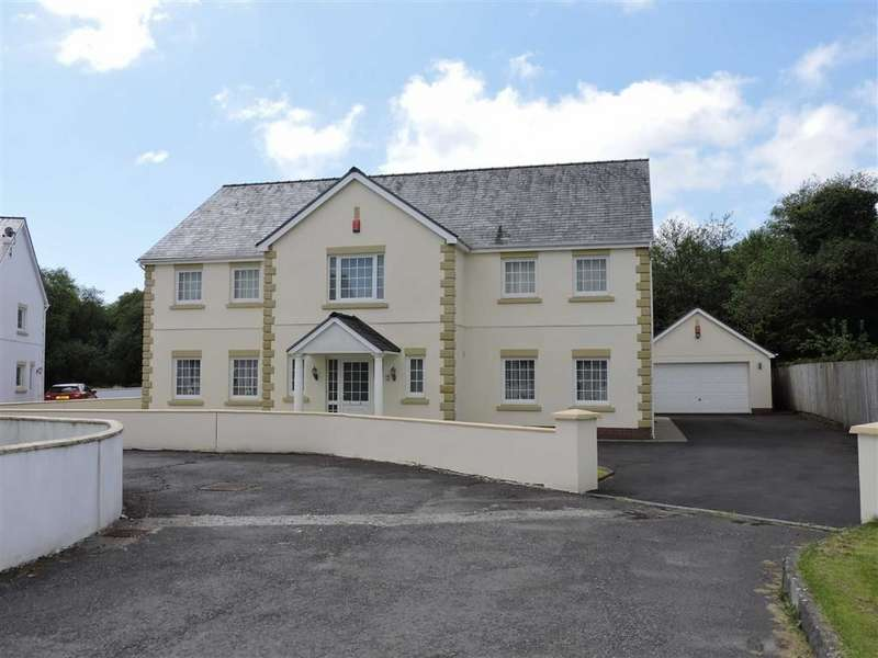 5 Bedrooms Detached House for sale in Gorswen, Carmarthen Road, Cross Hands