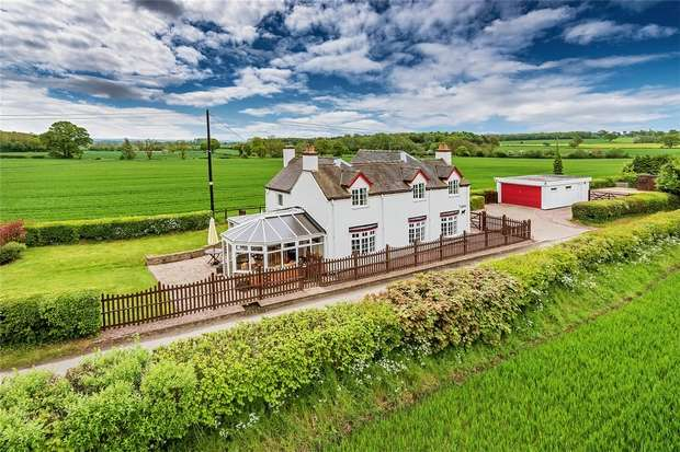4 Bedrooms Detached House for sale in Moorfields Cottage, Goosemoor, Church Eaton, Stafford