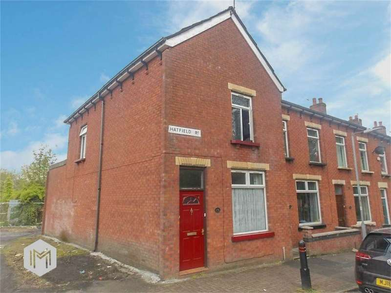 2 Bedrooms End Of Terrace House for sale in Hatfield Road, Halliwell, Bolton, Lancashire