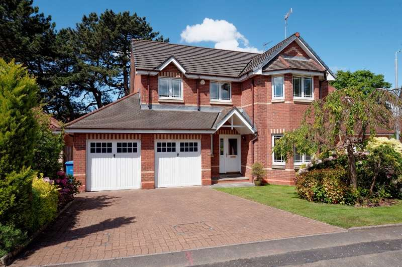 4 Bedrooms Detached House for sale in Branklyn Close, Academy Park, Glasgow, G13 1GG