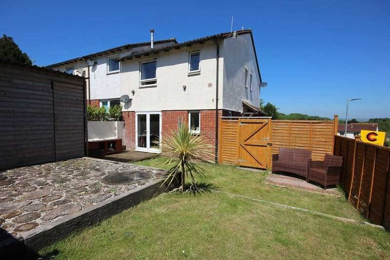 2 Bedrooms End Of Terrace House for sale in Dawes Close, Ogwell