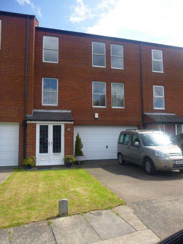 3 Bedrooms Town House for sale in CORBY HALL DRIVE, ASHBROOKE, SUNDERLAND SOUTH