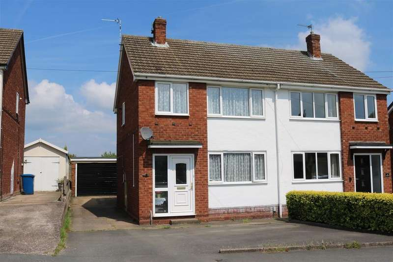 3 Bedrooms Semi Detached House for sale in Ashleigh Drive, Tamworth