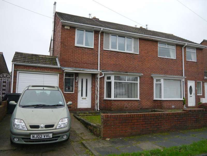 3 Bedrooms Semi Detached House for sale in Moorland Drive, Bedlington
