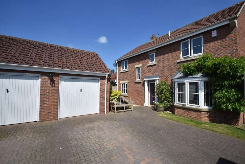 4 Bedrooms Detached House for sale in Clarke's Croft, Dishforth