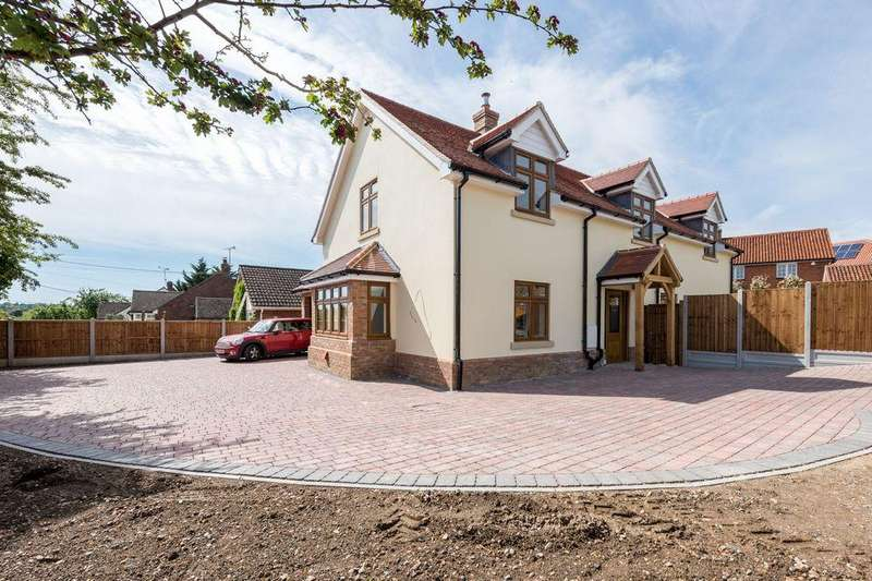 4 Bedrooms Detached House for sale in Rettendon Common